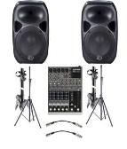 SOUND SYSTEM FOR SMALL EVENT